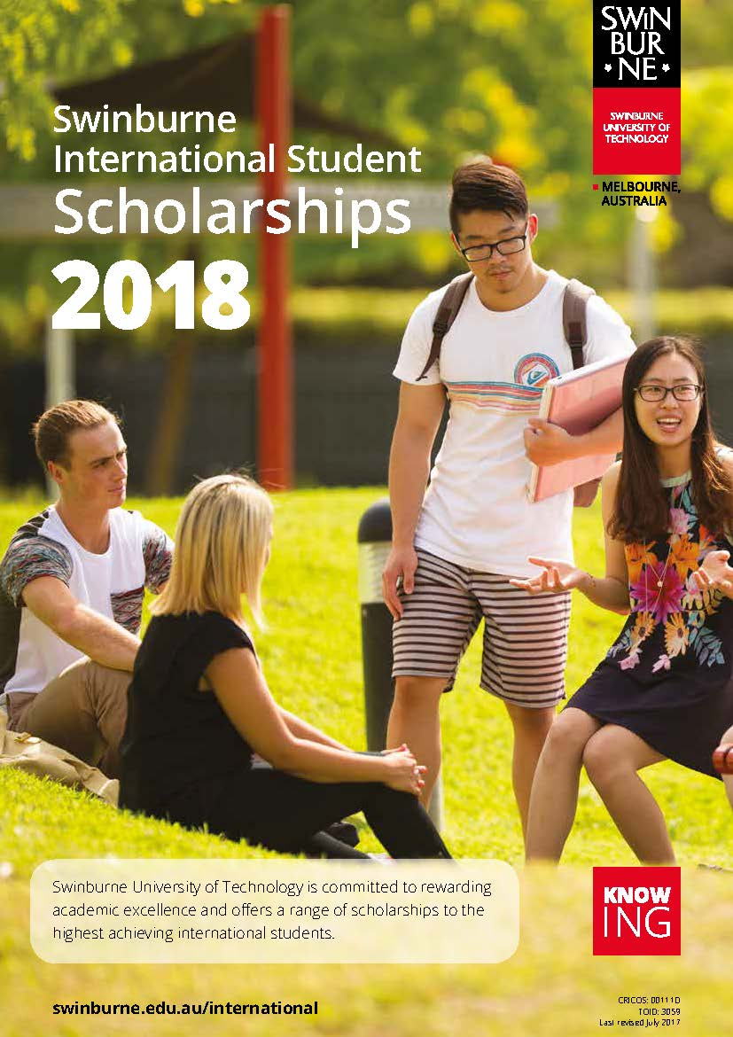 swinburne postgraduate coursework scholarships
